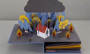 Pop-up Book Stop Motion Animation