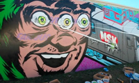 Pose & Sever Graffiti in Atlanta