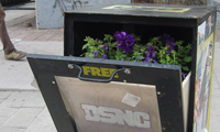 Posterchild's Flyer Planter Boxes