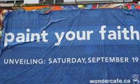 Paint Your Faith Mural in Toronto