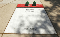 Street Artist Turns Chicago Sidewalks Into a 'Monopoly' Board