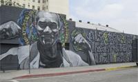 New Retna and El Mac Mural in LA