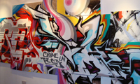 Pictures From Revok's Show In London