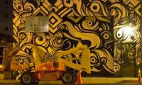 Reyes Graffiti Mural Time-lapse