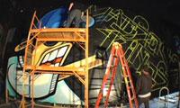 Revok, Rime & OG Abel Painting Billboard