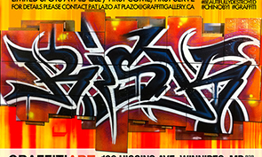 RISK MSK Art Show & Graffiti Battle in Winnipeg