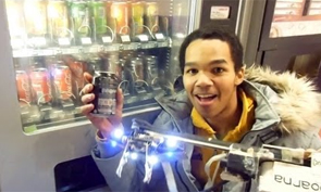 A Robot that Steals from Vending Machines