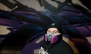 Saber Graffiti for Nuart 2012