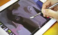 Sensu Artist Brush for iPad