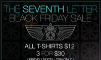 The Seventh Letter Black Friday Sale