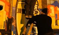 Seventh Letter Graffiti in Detroit