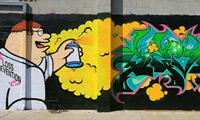 Sever Family Guy Graffiti Piece