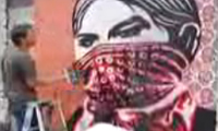 Shepard Fairey Wheat Pasting San Francisco