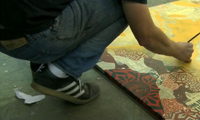 Shepard Fairey Stencil Video
