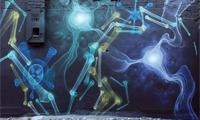 Shok1 X-Ray Graffiti Poster