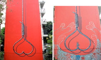 Shok1 Painting in China Censored