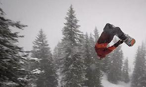 Slashing Gnarlberg Snowboarding Spotlight