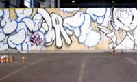 Slick Graffiti For Adidas Shoes