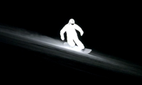 Night Snowboarding LED Suit