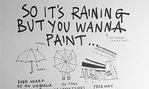 How to Paint in the Rain