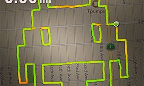 Runner Creates Art Using GPS Maps