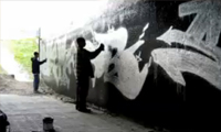 Sueme, Werd, Sone Painting Leeside