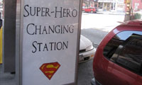 Posterchild's Super Hero Changing Station