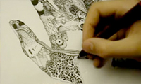 Surrealistic Drawing Time-lapse