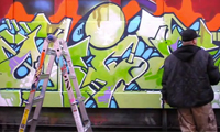 Sye & Ovie Graffiti at Tuff City