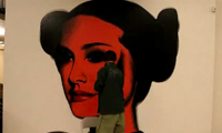 The Mac Star Wars Graffiti Painting