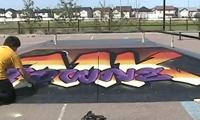 Tower Painting MK-Towne Skatepark