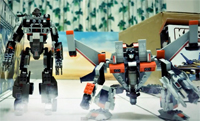 Transformers Stop-motion Animation