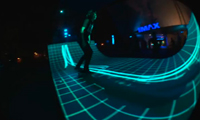 Tron Skateboard Ramp
