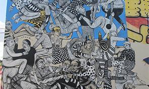 Troy Lovegates Mural in Miami