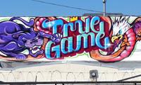 True Game Graffiti by Revok, Augor & Rime