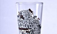 Upper Playground Graffiti Glass