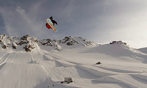 Val Senales Snowboarding Video