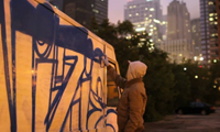Vizie Painting a Truck