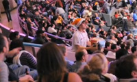 Improv Everywhere – Where is Rob? – Lost at the Knicks Game
