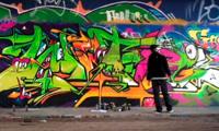 Tyke Witnes Graffiti in Amsterdam