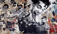 Forty Years of Iconic Ads with Mural by WK Interact
