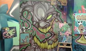 Xmas Graffiti Art Show Recap
